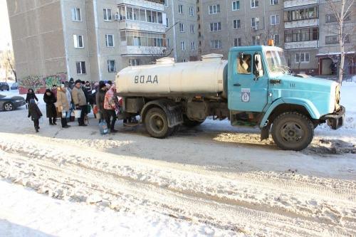 Воды нет. Коммунальная авария в Новосинеглазово