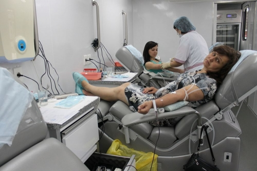 Почетное донорство. Челябинская станция переливания крови вошла в число призеров в номинации «Помочь в один CLICK»