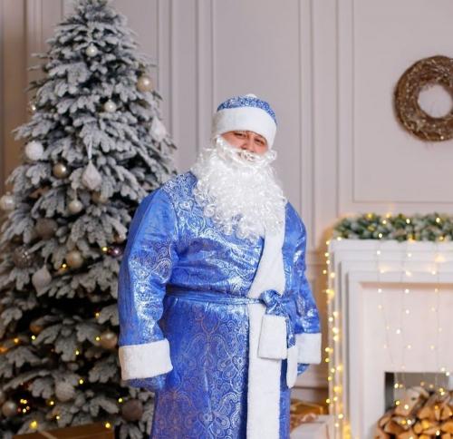 В роли Деда Мороза. Жителям Челябинска – только счастья, мира и добра