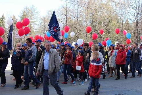 Первомай в городе. В Челябинске пройдут праздничное шествие и концерты