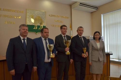 Металлурги показали высший класс. В Челябинске наградили победителей спартакиады среди трудовых коллективов