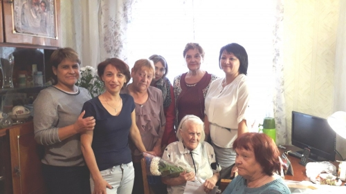 Поздравления от президента. Челябинка Елизавета Мосягина отмерила век