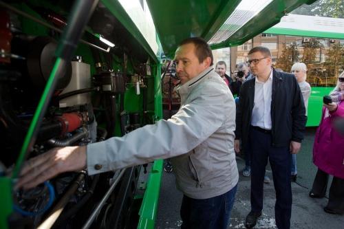 Удобство и комфорт в передвижении. В Челябинск прибыла первая партия низкопольных автобусов
