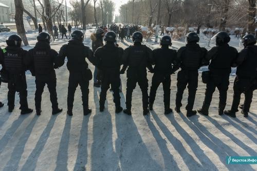 Брали не глядя. Вчера на несанкционированной акции задержали более 150 жителей региона